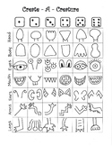 Create-a-Creature Worksheet