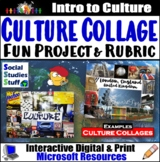 Create a Culture Collage Project - Adaptable to Any World Culture