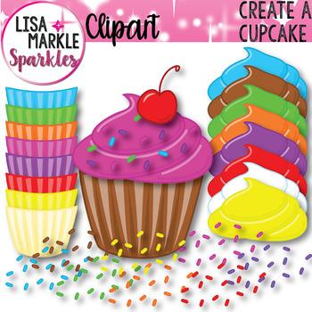 Create a Cupcake Clipart