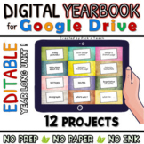 Create a  DIGITAL YEARBOOK / Memory Book with GOOGLE DRIVE - PBL