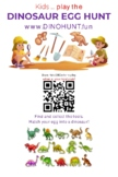 Create a Dinosaur Hunt in your Local Park or School Yard
