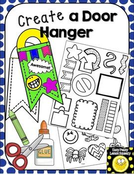 Create a Door Hanger!