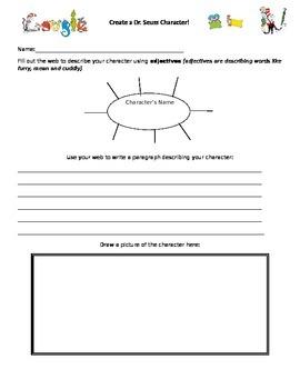 Create a Dr. Seuss Character