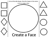 Create a Face Fine Motor Skills Cutting Activity