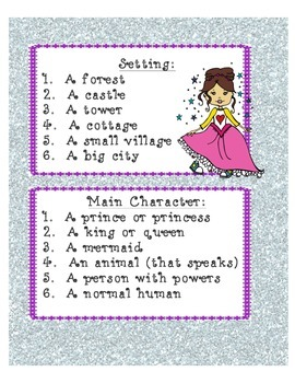 Create a Fairy Tale Using Dice