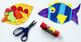 Create-a-Fish Printable Craft Template