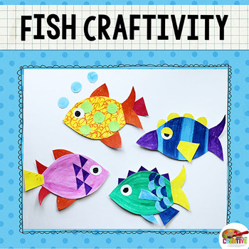 Create A Fish Printable Craft Template