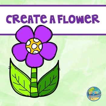 Create a Flower File Folder Game