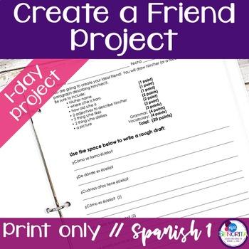 Create a Friend Project