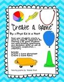Create a Game Worksheet & Rubric