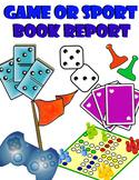 Create a Game or Sport Book Report - Creative Book Report
