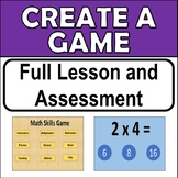 Create a Game Using PowerPoint. Year 5 & 6 Digital Technologies Assessment.
