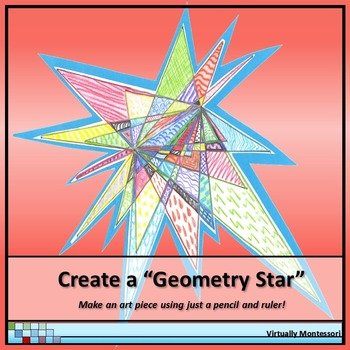 Create A Quot Geometry Star Quot By Virtually Montessori Tpt