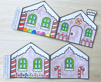 Create a Gingerbread House - A Simple Holiday Activity