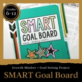 Create a SMART Goal Board: SMART GOALS (DIGITAL INCLUDED)