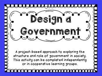 Create a Government Model Activity