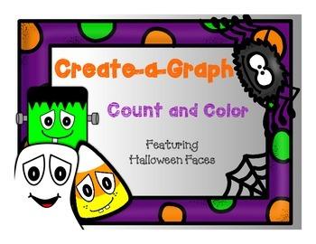 Create a Graph: Halloween Faces