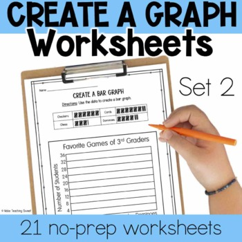 Create a Graph Worksheets - Set 2
