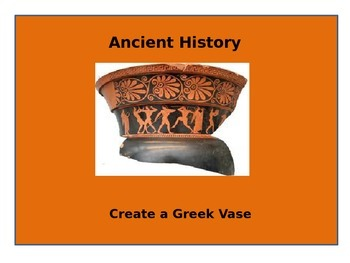 Create a Greek vase