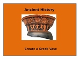 Create a Greek vase / Distance Learning