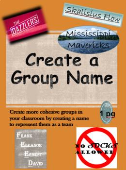 Create a Group Name