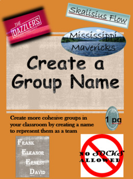 Create a Group Name