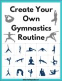 Create a Gymnastics Routine Activity + Worksheet