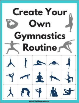 Create A Gymnastics Routine Activity Worksheet By The Pe