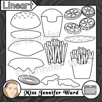 Create a Hamburger Clipart