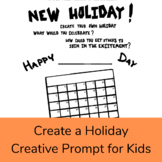 Create a Holiday Creative Writing Discussion Prompt