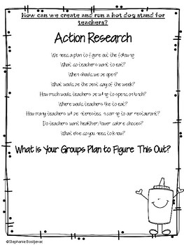 Create a Hot Dog Stand Project Based Learning-Long Division and More!!!