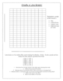 Create a Line Graph and Review Mean, Median, Mode, and Range!