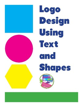 Create a Logo using text and shapes