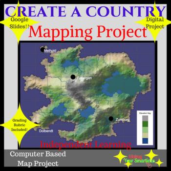 Create a Map - A Google Slide Project