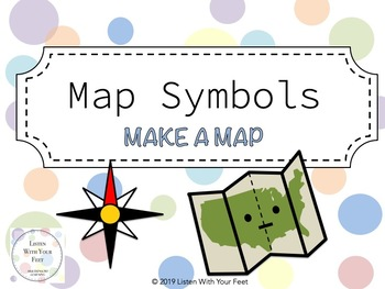 Symbols: Make a Map- FREE by Listen With Your Feet | TpT on