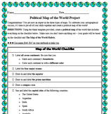 Create a Map of the World Project