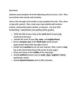 Create a Map of your Neighborhood