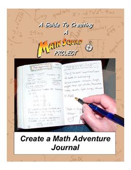 Create a Math Adventure Journal!
