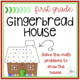 Create a Math Gingerbread House: First Grade Holiday Activity