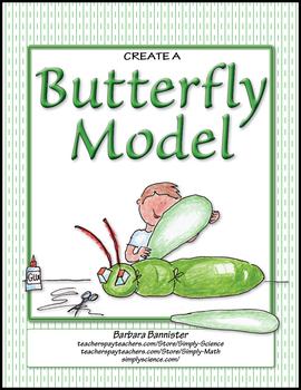 Create a Model of a Butterfly ★ FREEBIE ★