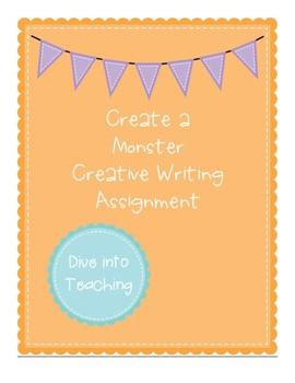 Create a Monster Creative Writing