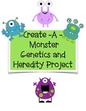 Create a Monster Genetics and Heredity Project