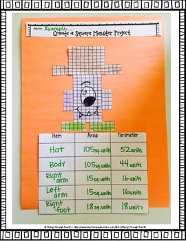 Create a Monster Project: Area, Perimeter, Customary & Metric