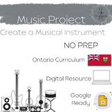 Create a Musical Instrument || Google Slides™ ready || Mus