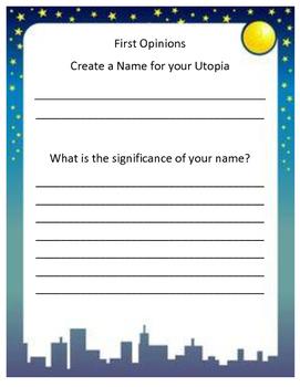Create a Name for Utopia