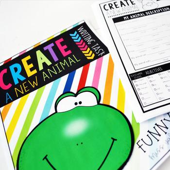 Create a New Animal (Writing Task)