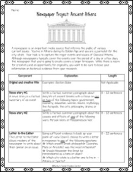 Classical Athens Newspaper Project