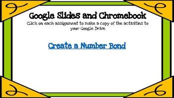 Create a Number Bond-A Digital Math Center