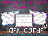 Create a Number Task Cards COMMON CORE ALIGNED 5.NBT.1 COM