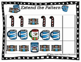 Create a Pattern Activity Mat- Hot Chocolate